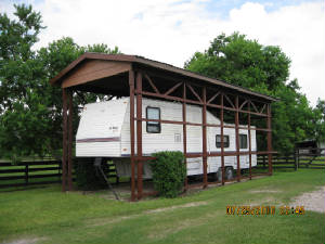 Wood rv carport design how to build little shed Motorhome carport plans